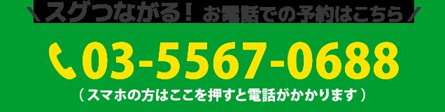 電話番号:03-5567-0688